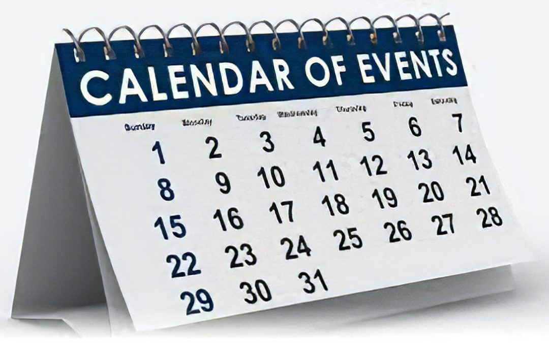 CHECK OUT OUR CALENDAR FOR THE LATEST EVENT INFORMATION!