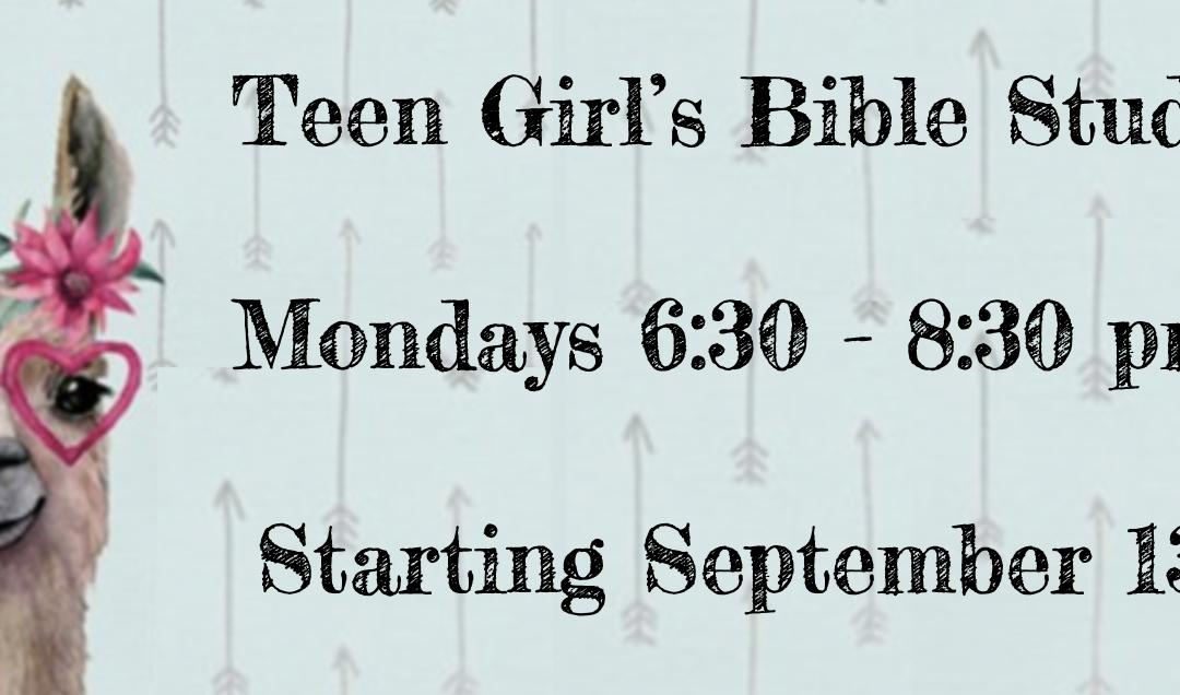 TEEN GIRL'S BIBLE STUDY